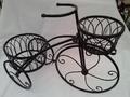 Triciclo 2 cestas negro