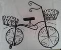 Bicicleta 2 cestas negro